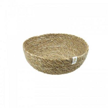 Ošatka z mořské trávy Respiin  střední - Natural