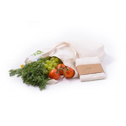 Tierra Verde, Plátěná nákupní taška z biobavlny (37x40x10cm)