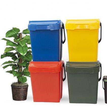 Sartori Ambiente, Koše na třídění odpadu Urba Plus 40 - SET 4ks