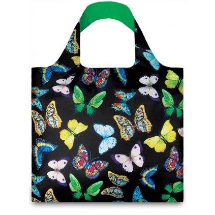 LOQI, Nákupní taška - Wild Butterflies