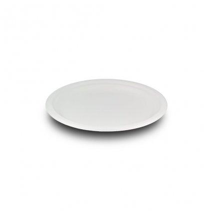 Vegware, Kompostovatelný talíř - mělký, 18 cm, balení 50ks