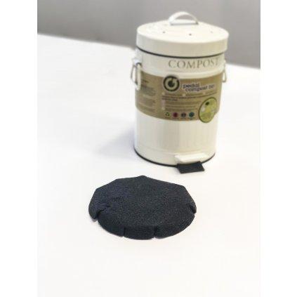 KitchenCraft, Náhradní uhlíkový filtr do pedálového koše na bioodpad
