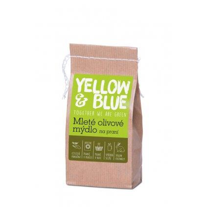 mleté olivové mýdlo