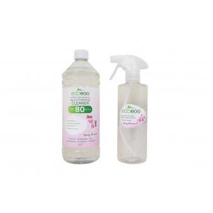 Ecoegg, Antibakteriální čistič s vůní jarní květy, 1l