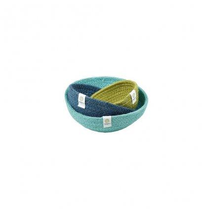 6042 jute mini bowl set ocean