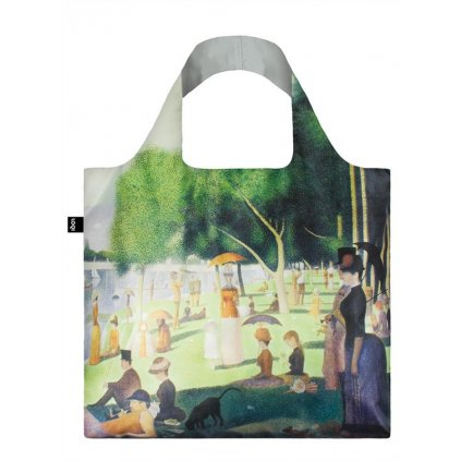 loqi museum seurat a sunday on the island bag