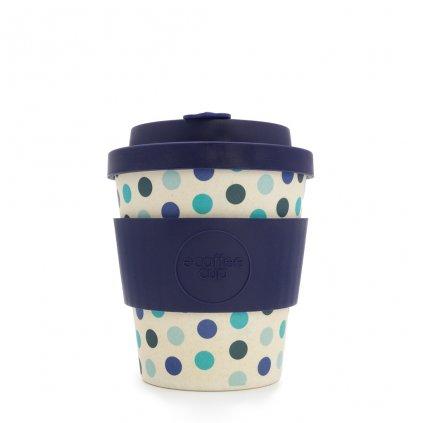 Bambusový hrnek Ecoffee Blue Polka - 240 ml
