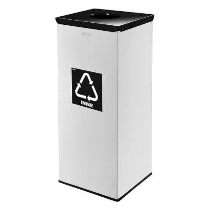 Odpadkový koš kovový - 50 L