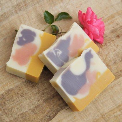 mýdlo růžová alej