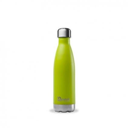 Nerezová termo láhev Qwetch - Zelená, 500 ml