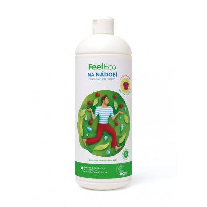 85 1 feel eco prostredek na nadobi s vuni maliny 1l
