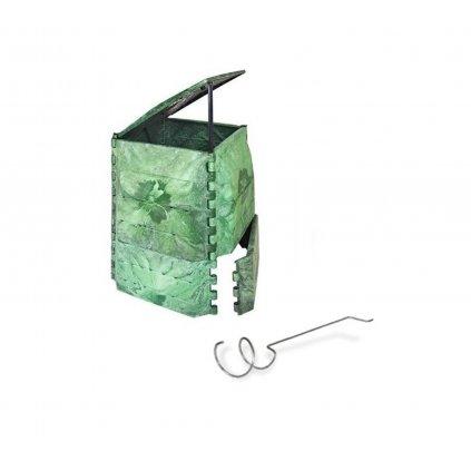 Kompostér JRK 335 PREMIUM  + Překopávač ZDARMA + Průvodce kompostováním