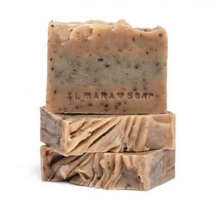 Almara Soap, Tuhé přírodní mýdlo - Mořská řasa