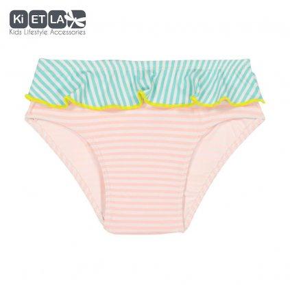 Kietla, Dětské plavkové kalhotky s UV ochranou - Růžový proužek