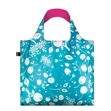 LOQI, Nákupní taška - Seed Teal