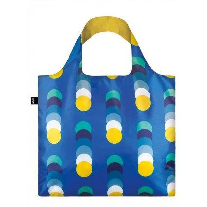 LOQI, Nákupní taška - Geometric Circles New