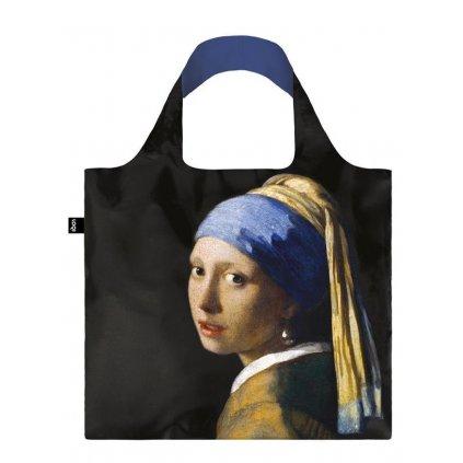 LOQI, Nákupní taška - Jan Vermeer, Girl with a Pearl Earring