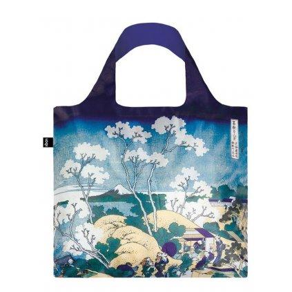 LOQI taška MUSEUM, Hokusai - Fuji from Gotenyama
