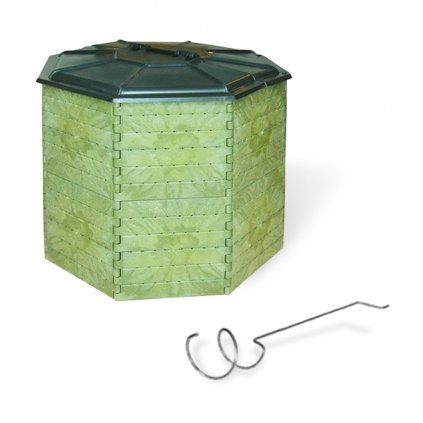 Kompostér JRK 1400 PREMIUM  + Překopávač ZDARMA + Průvodce kompostováním