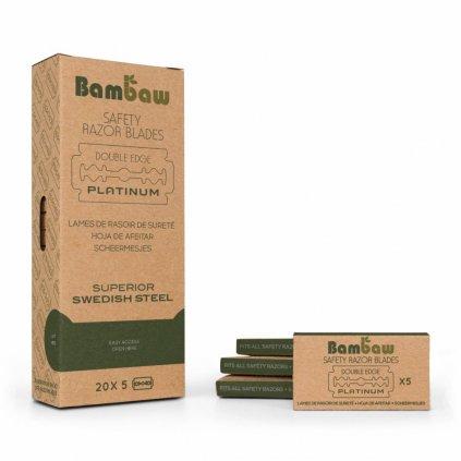 Bambaw, Astra náhradní žiletky do holícího strojku, 20x5