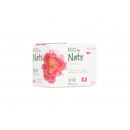 Naty, Dámské ECO tampóny - Regular, 18 ks