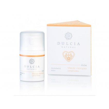 Dulcia, Hydratační krém - Meruňkový olej a komplex ceramidů 50 ml