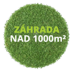 Záhrada nad 1000 m²