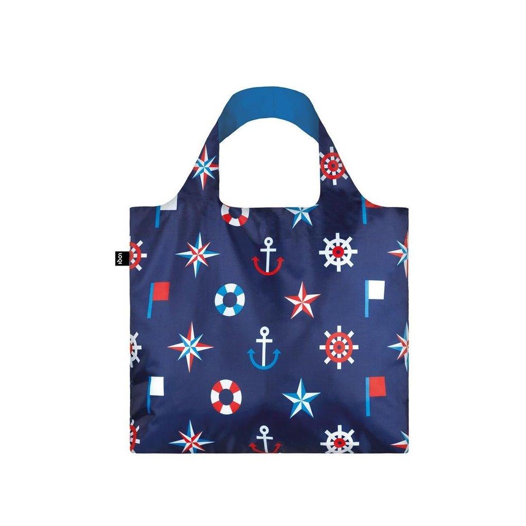 Loqi, Nákupná taška - Nautical Classic