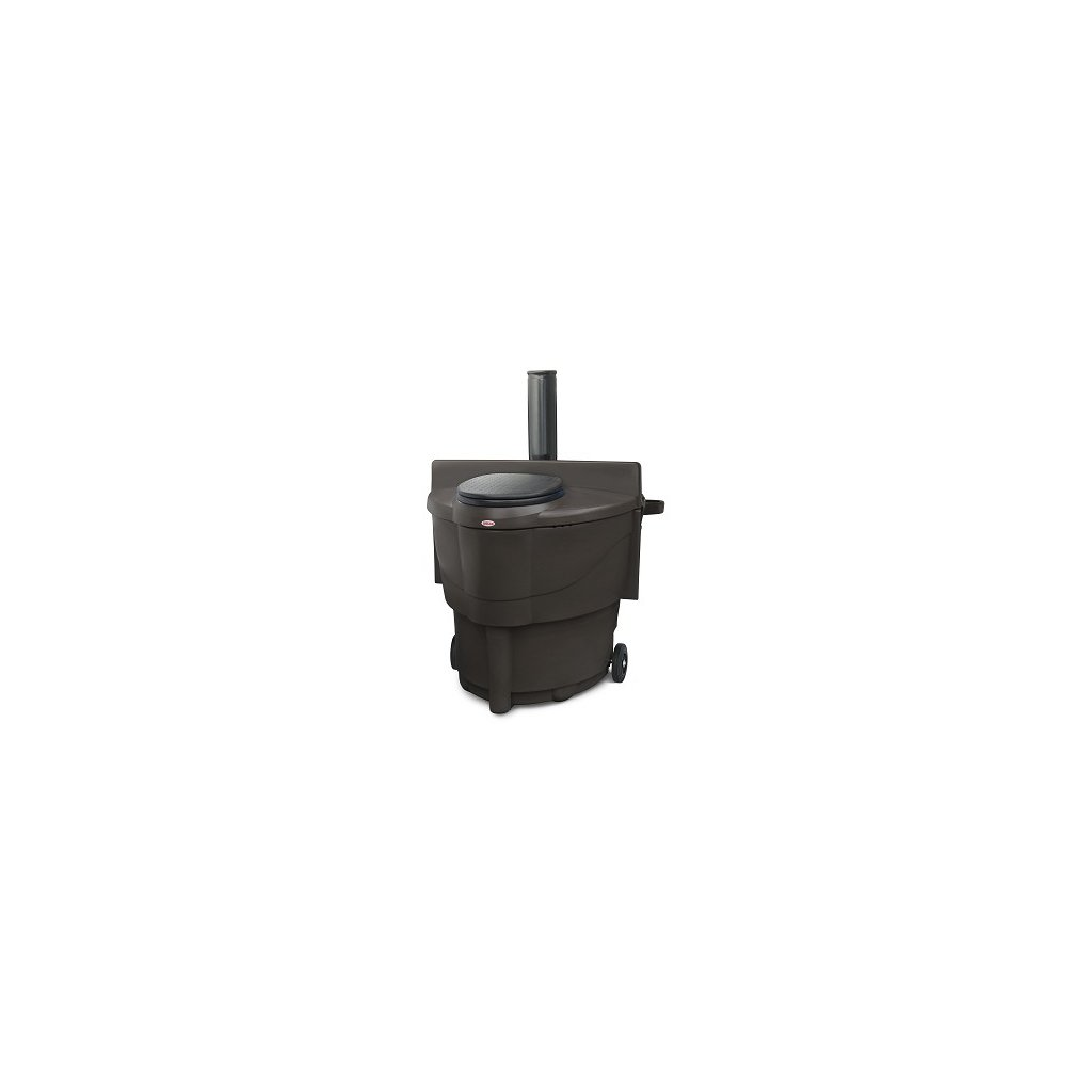 Kompostovacia toaleta - Populett 200, Biolan, 200 l, hnedá