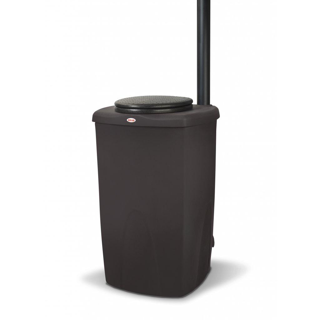 Kompostovacia toaleta Biolan Eco - tmavo šedá