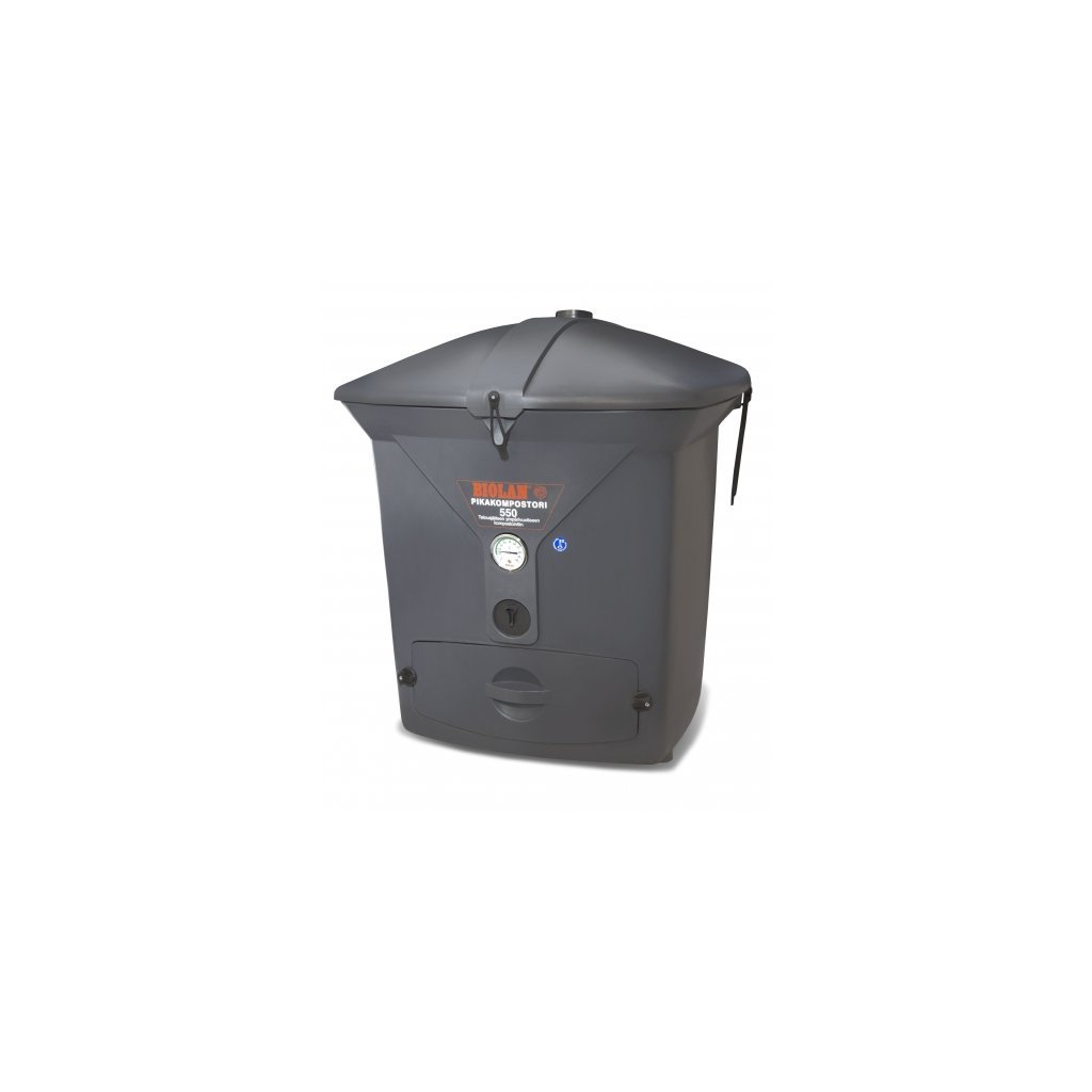 Kompostér Quick 550 eco, tmavošedý