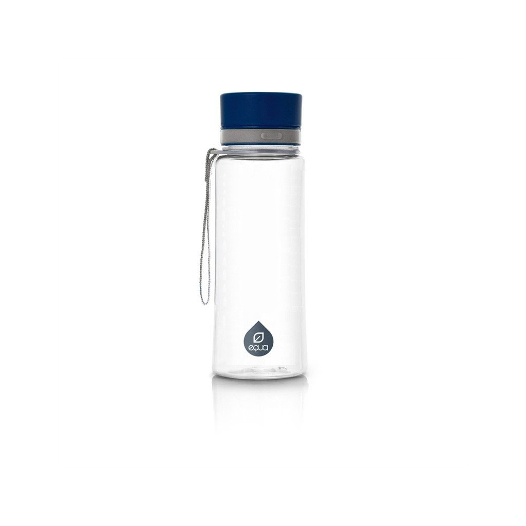 Equa, Fľaša 600 ml - Plain Blue