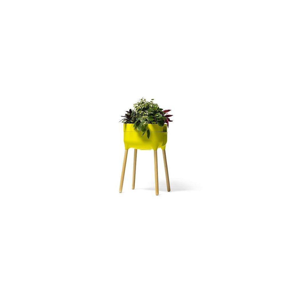 Plastia, UrbAlive vysoká nádoba na pestovanie - zelená/antracitová