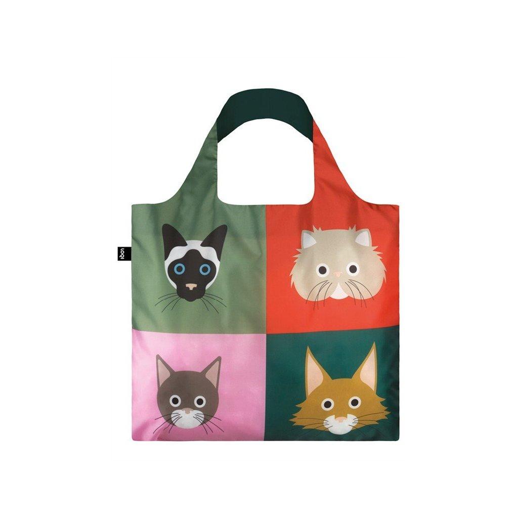 Loqi, Nákupná taška - Stephen Cheetham Cats