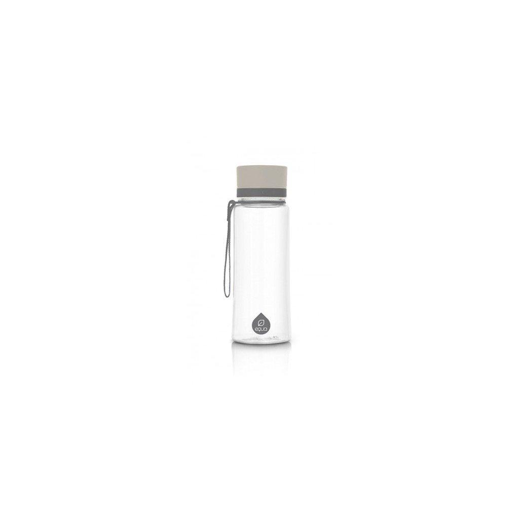 Equa, Fľaša 600 ml - Plain Grey