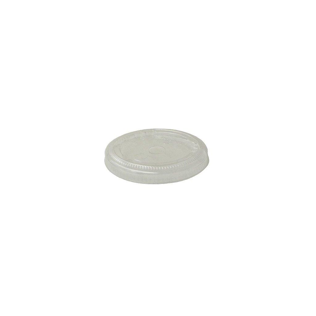 Vegware, Vrchnák plochý 76 mm s dierkou
