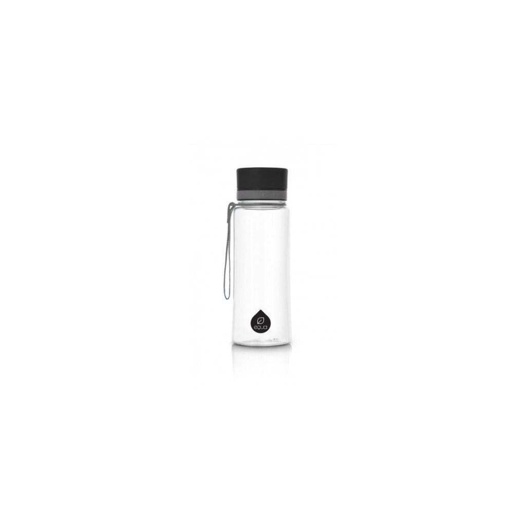 Equa, Fľaša - Plain Black, 400ml