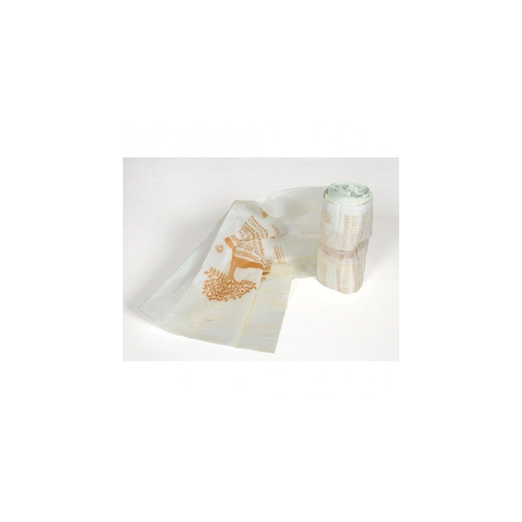 Kompostovateľné vrecká. Biologicky rozložiteľné. 25 kusov
