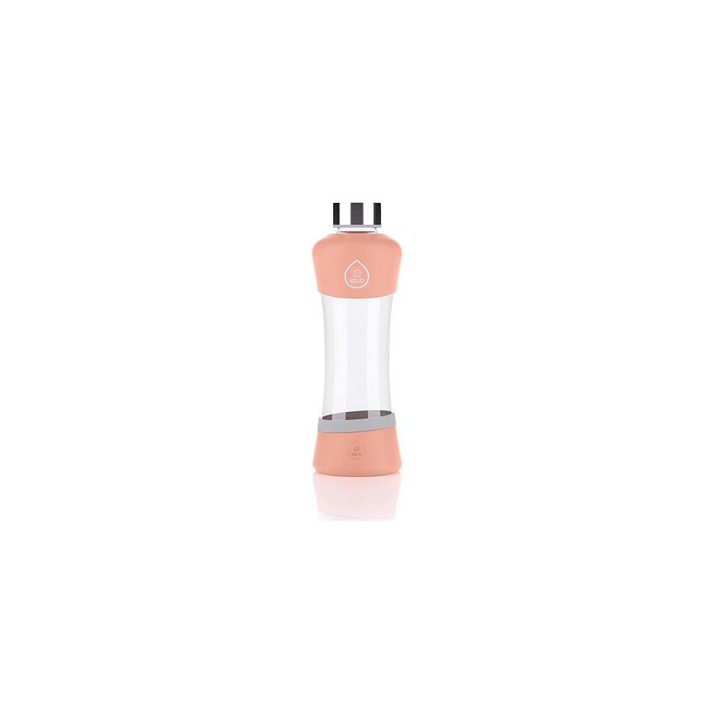 Fľaša EQUA ACTIVE Peach, 550 ml