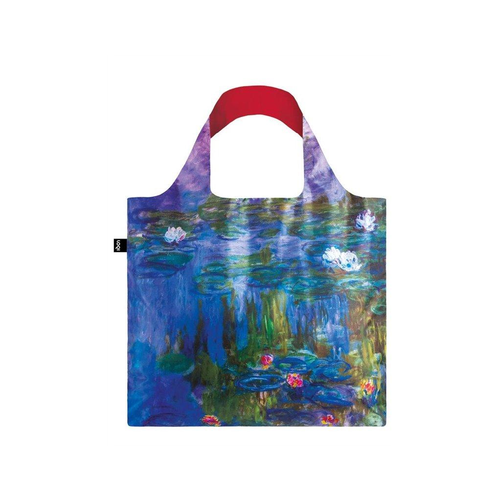 loqi museum claude monet water lilies bag