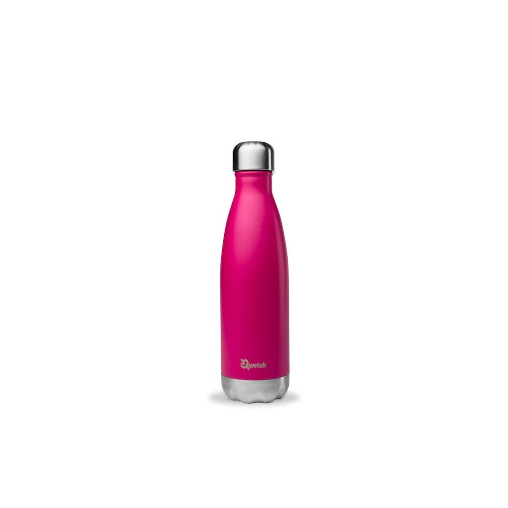 insulated stainless steel bottle magenta 500ml