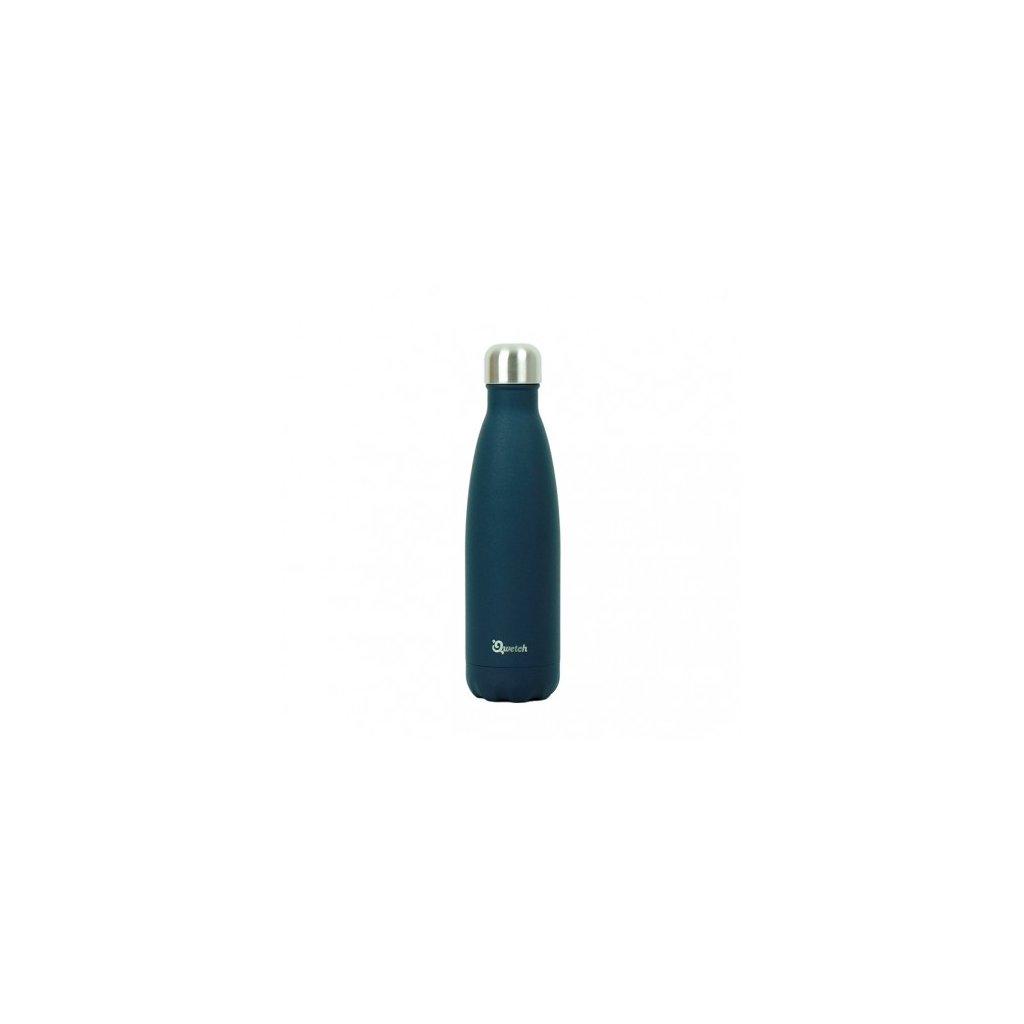 insulated stainless steel bottle granite midnight blue 500ml
