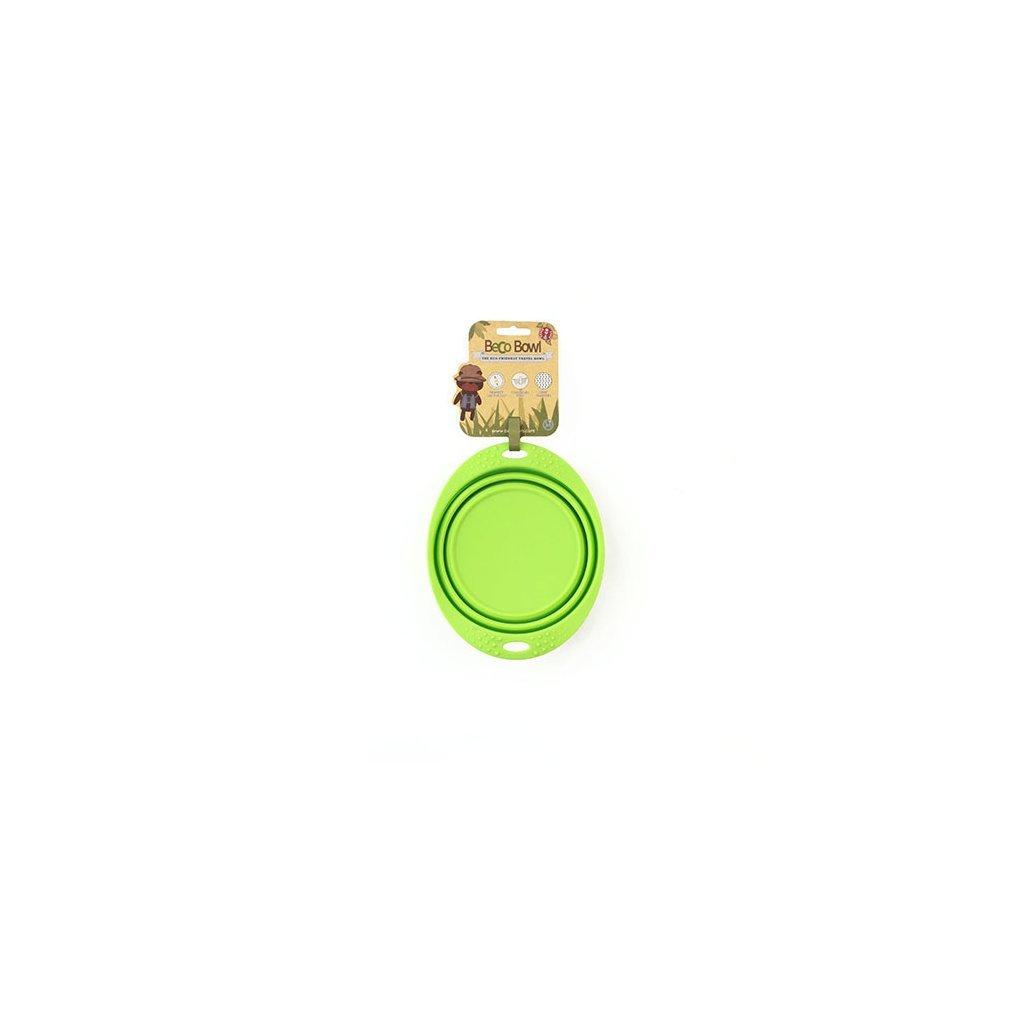 7307 2 beco travel bowl medium green