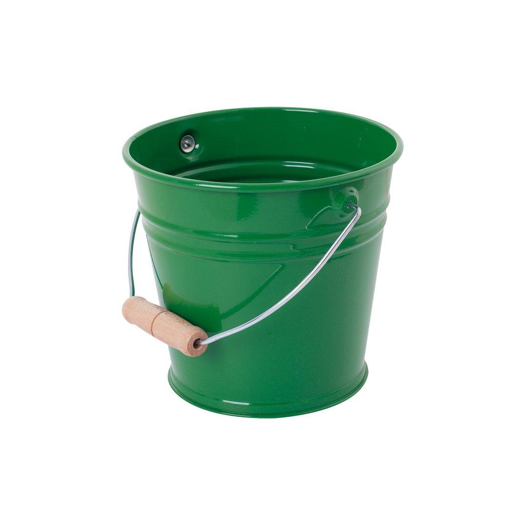 Redecker, detské kovové vedierko - zelené