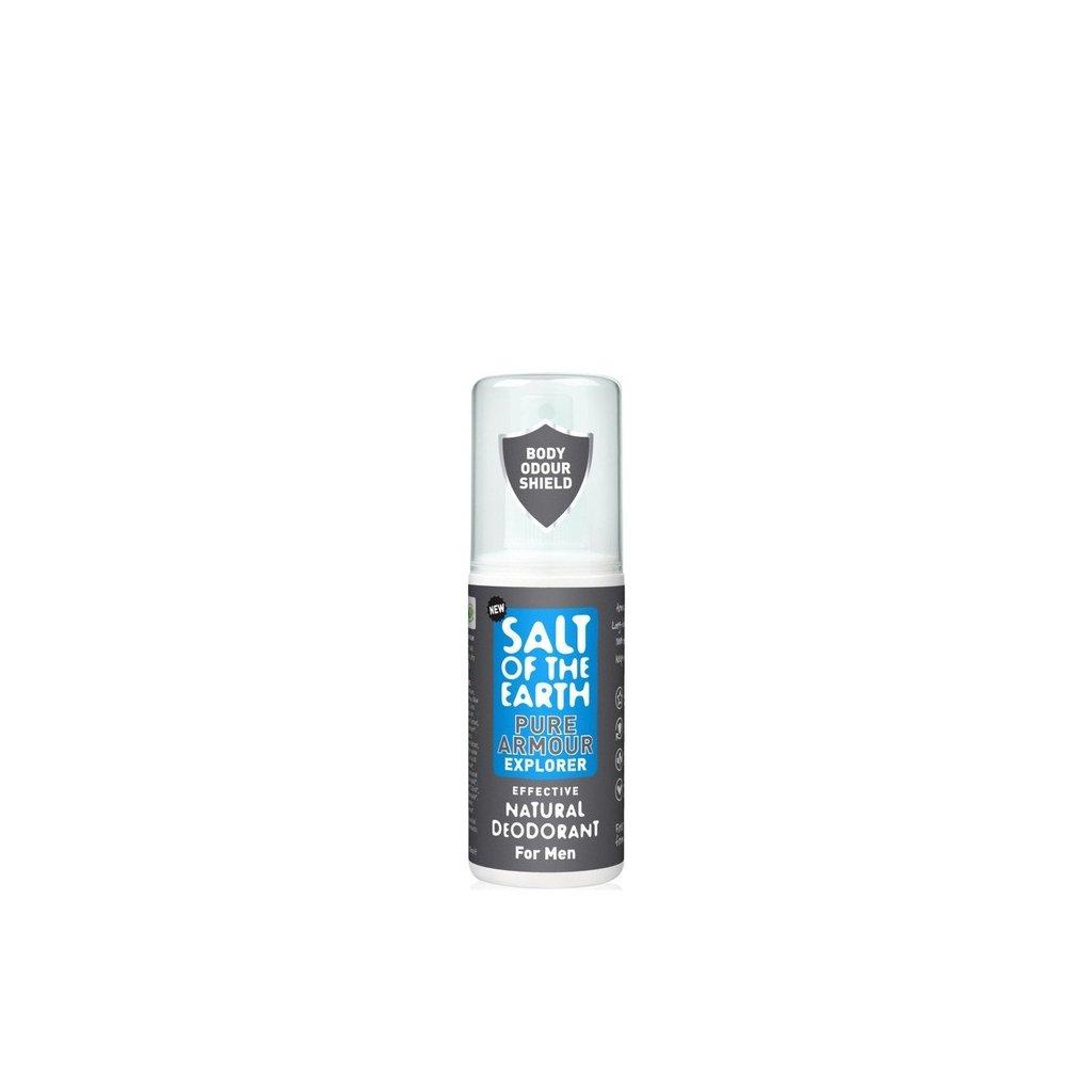 61404 prirodny krystalovy deodorant pure armour explorer sprej 100ml 1774