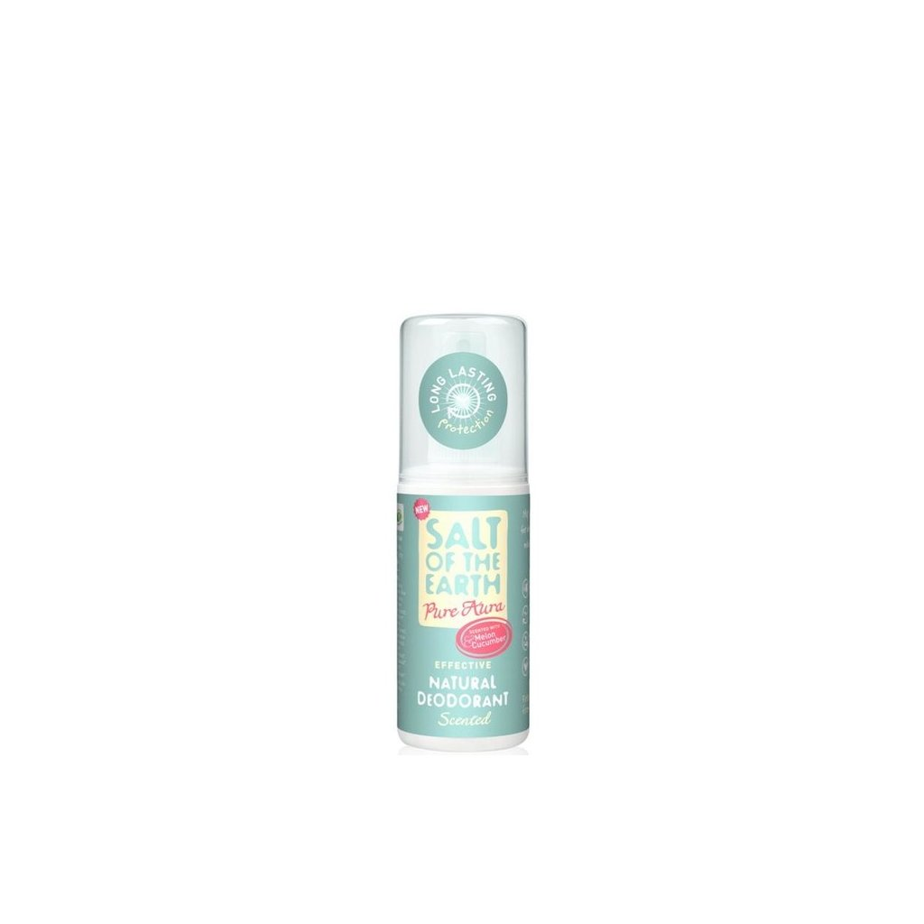 61406 prirodny krystalovy deodorant pure aura melon uhorka sprej 100ml 1772