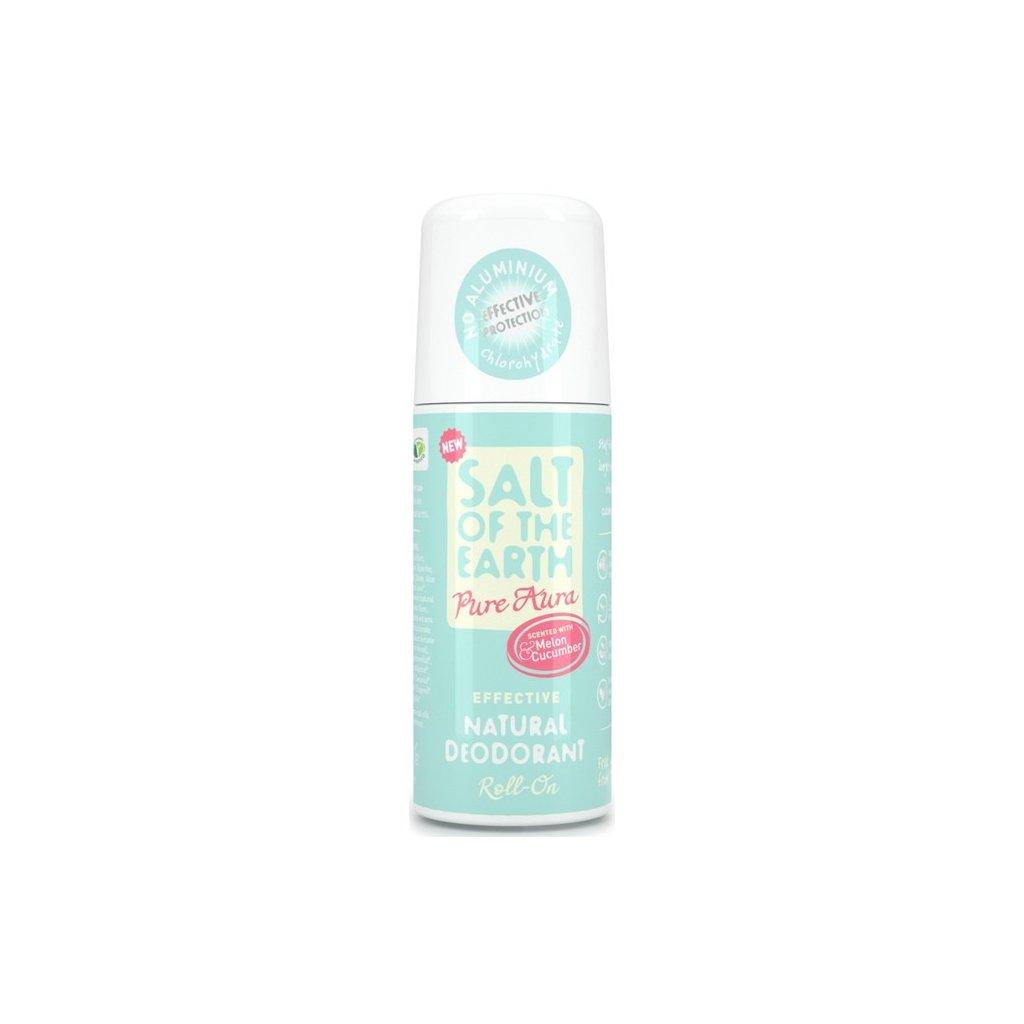 61410 prirodny krystalovy deodorant pure aura melon uhorka roll on 75 ml 1822