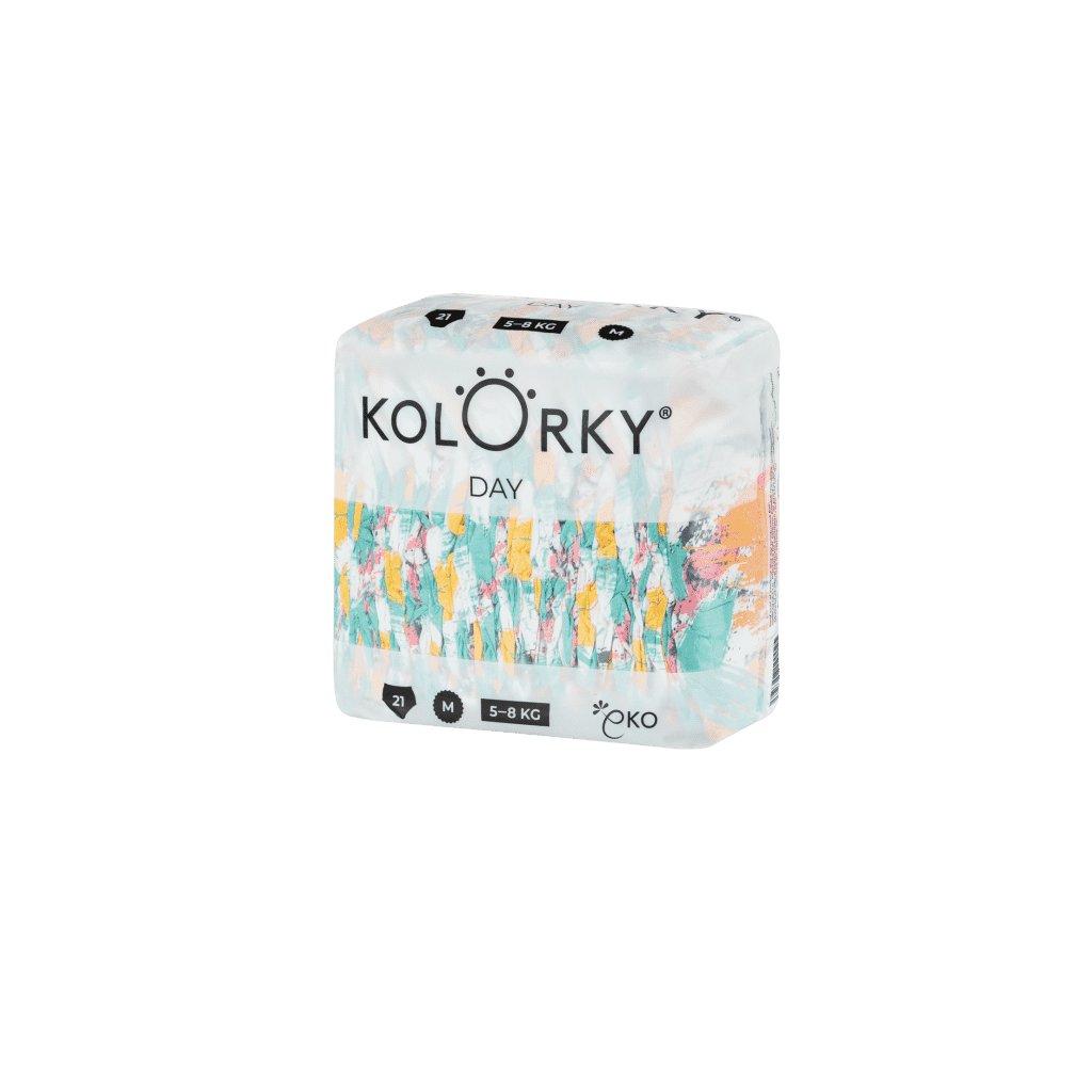 Kolorky, Denné plienky M, 5 - 8 kg - Štetec