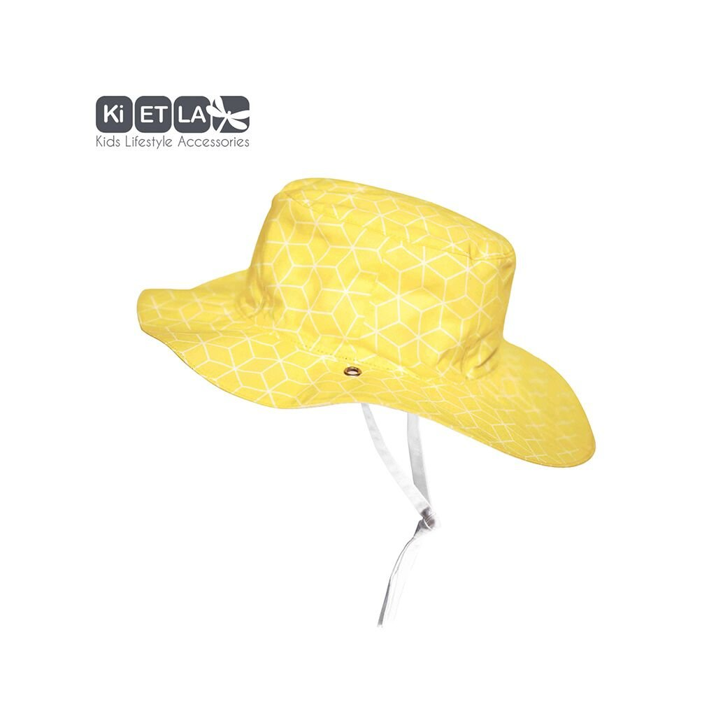 KiETLA, Obojstranný klobúčik s UV ochranou - 47 cm - Cubic Sun
