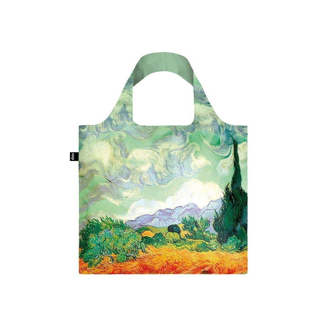 Loqi, Nákupná taška - Van Gogh - A Wheat Field with Cypresses